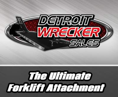 Detroit Wrecker Forklift Attachment