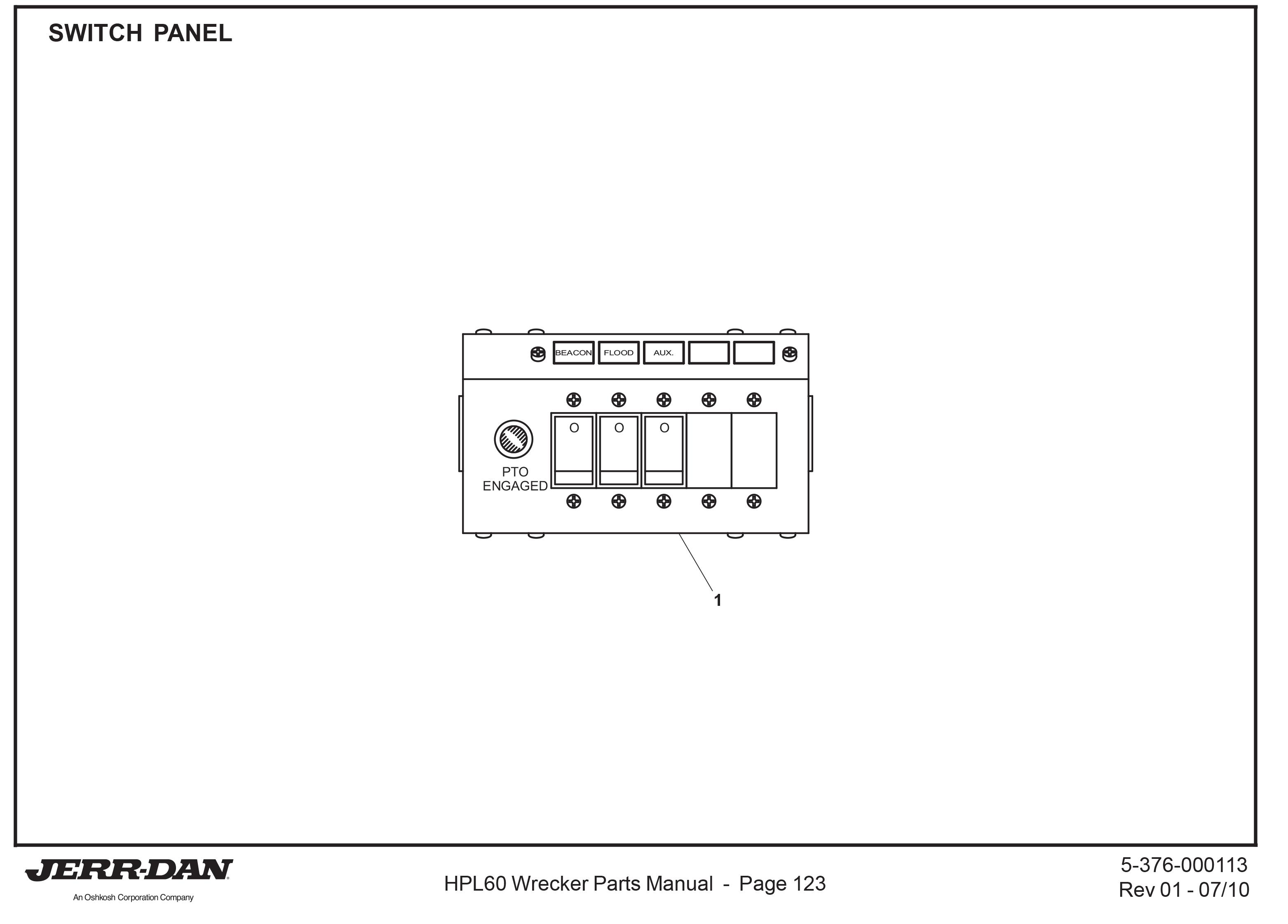 Jerr Dan Control Relay Wiring Diagram Data Diagrams Champion Bed Lock Flatbed