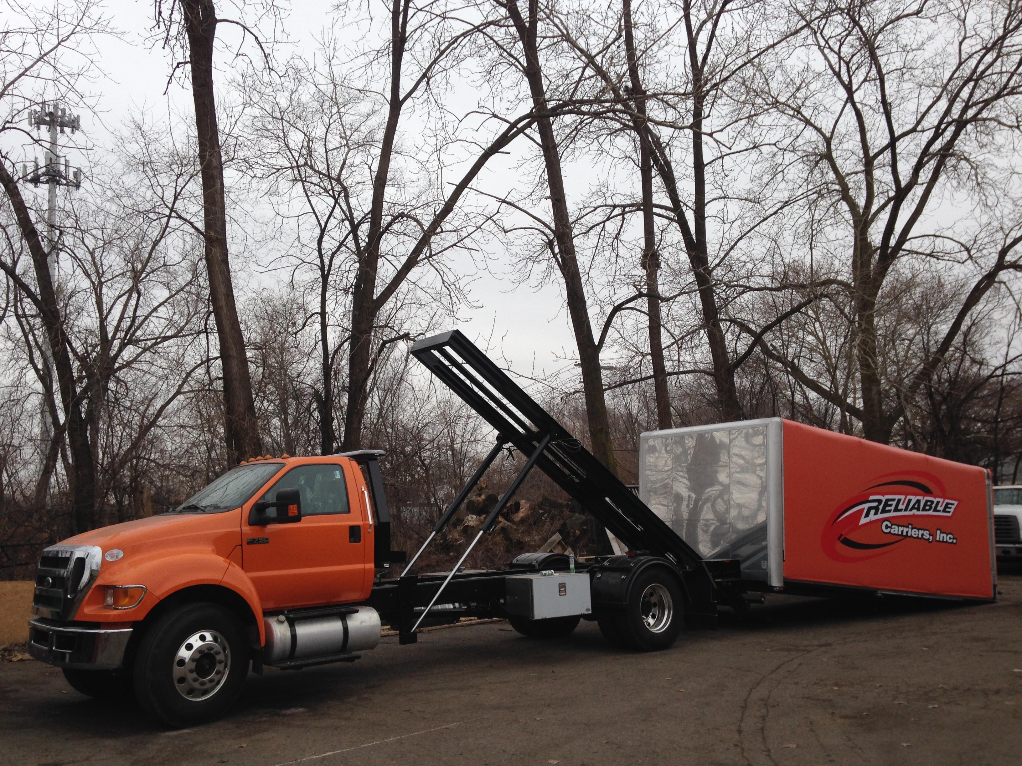 Low Loader Car Carrier Detroit Wrecker Sales