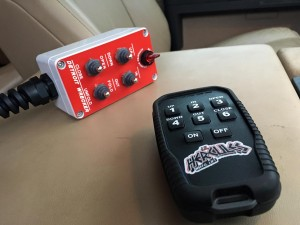 Our hand controller features