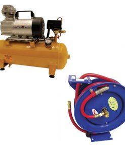 Air Compressor & Hose Reel Kit