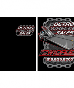 Low Loader t shirt from Detroit Wrecker sales.