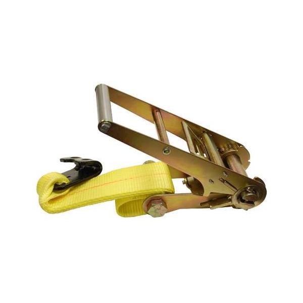 "3"" Ratchet Buckle Flat Hook Fix End"