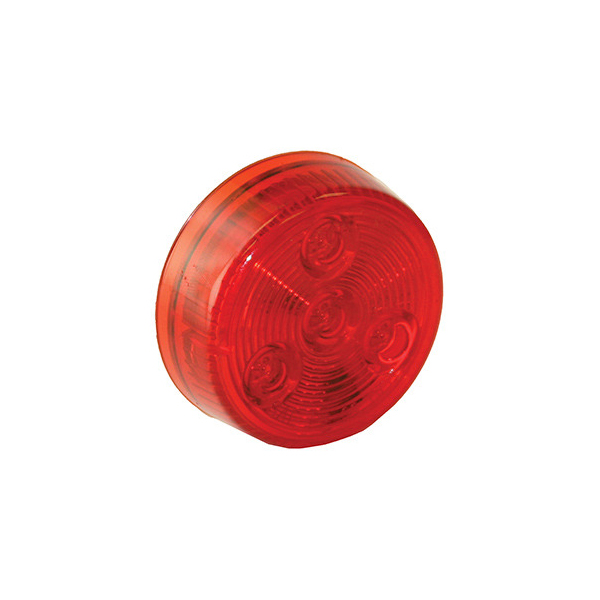 "2"" 4 LED Round Marker Light w/o Grommet"