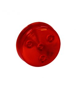 "2 1/2"" 4 LED Round Marker Light w/o Grommet"