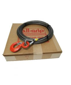 3/8 inch 75 ft. Steel Winch Cable