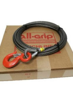 7/16 inch 200 ft. Fiber Large Hook Winch Cable  WL07200FZ
