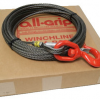 1/2 inch 100 ft. Steel Swivel Winch Cable WL08100SS