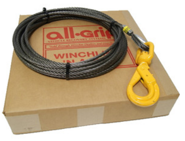 3/8 inch 100 ft. Steel Winch Cable WL06100SSL