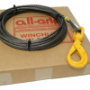 7/16 inch 75 ft. Fiber Winch Cable WL07075FSL