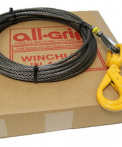 7/16 inch 75 ft. Steel Winch Cable WL07075SSL
