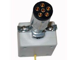 6-pin round transmitter