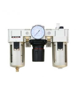 "Pneumatic Filter/Regulator/Lubricator, 1/2"" NPT, 141 CFM, 150 PSI"