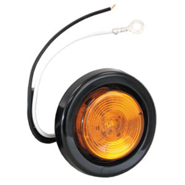 """2"""" Round Marker Light, 1 LED Amber"""