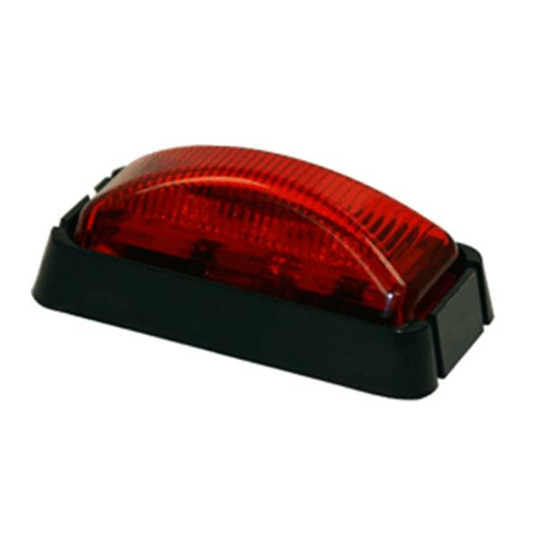 """2-1/2"""" Rec. Marker Light, 3 LED Red"""