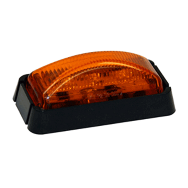 "2-1/2"" Rec. Marker Light, 3 LED Amber"