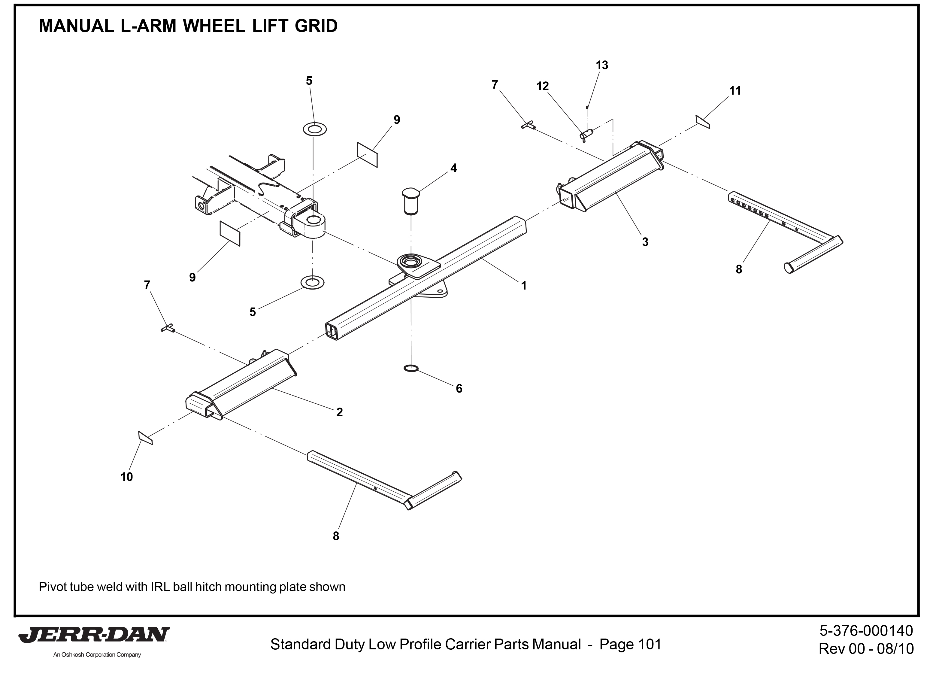 Wheel Lift L-Arms & Wheel Grids Archives | Detroit Wrecker Sales