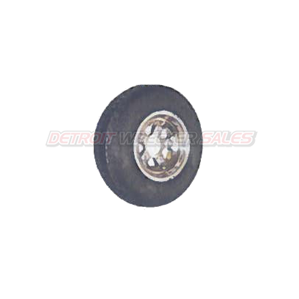 5.7 Steel Wheel With Tire