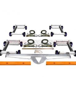 CDS Quad System: 2nd Pair Carrier Dollies (Add to CD-S)