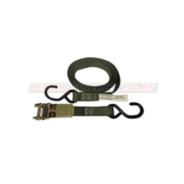 Tiw down Strap (1 hook Strap, 1 Ratchet