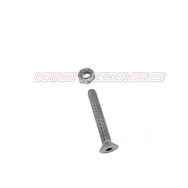 RAIL END BOLT AND NUT FOR ALUMINUM RAILS