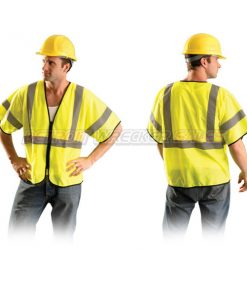 Class 3 Safety Vest w/ Zipper