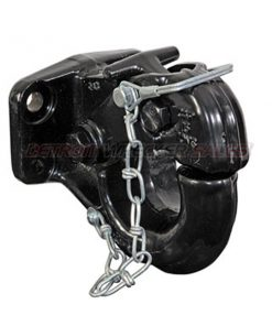 20-Ton Heavy-Duty Pintle Hook with Mounting Kit