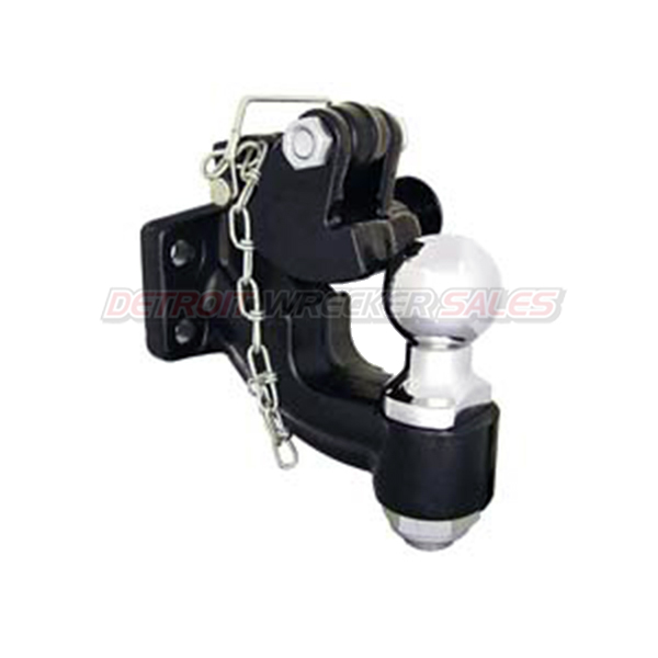"10-Ton Forged Alloy Steel Combination Hitch with 2"" Ball Size"