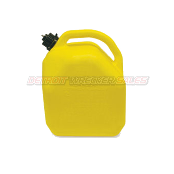 5-Gallon Plastic 'Diesel' Can (Yellow)