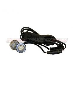 2 LED Hidden Strobes with 15'/25' Cable