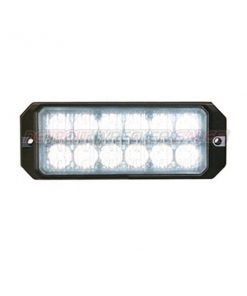 "5"" 12 LED, Light Strobe, Clear"