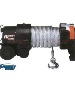 Winch 12000# Electric w/ Roller Fairlead
