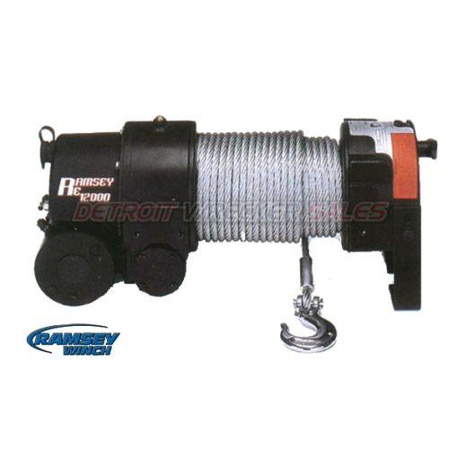 Winch 12000# Electric w/ Roller Fairlead