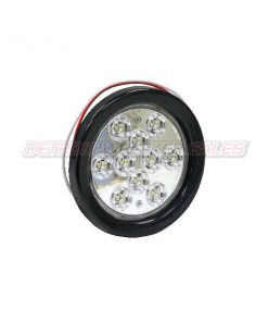"4"" Round Backup Light, 10 LED Clear"