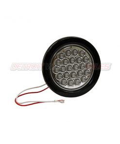 "4"" Round Backup Light, 24 LED Clear"