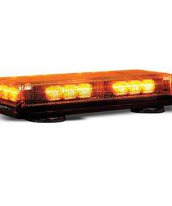 """16"""" LED Mini Lightbar Amber Light Amber Lenses"""