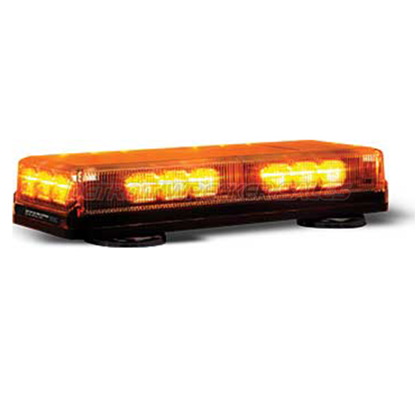 "16"" LED Mini Lightbar Amber Light Amber Lenses"