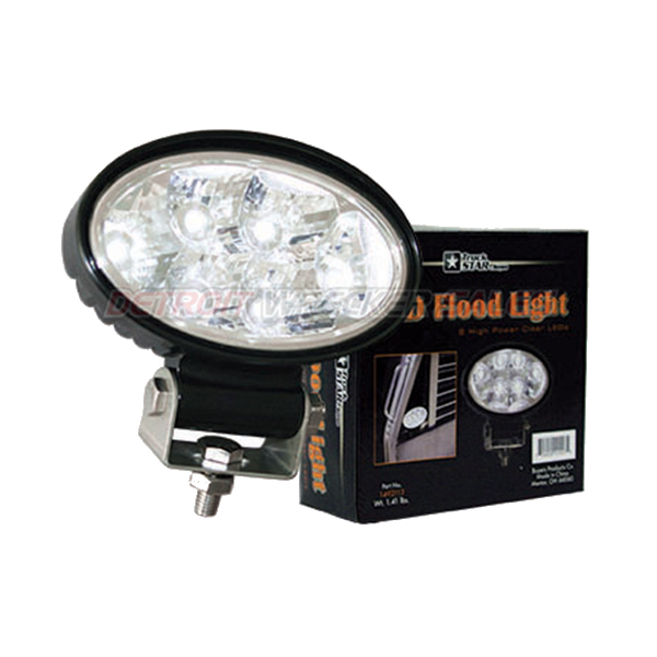 LED Oval Flood Light, 12-24 Volt