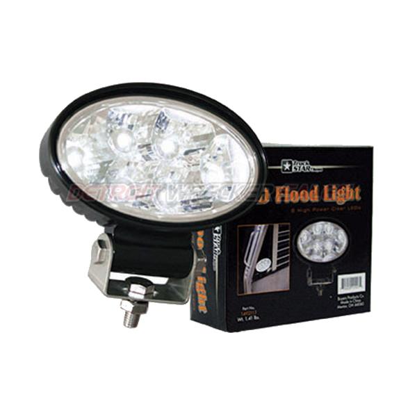 LED Oval Flood Light, 12-24 Volt