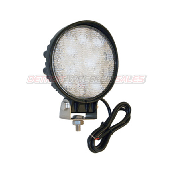 LED Clear Round Flood Light, 12 Volt