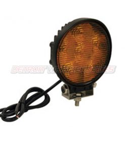 LED Amber Flood Light, 12 Volt