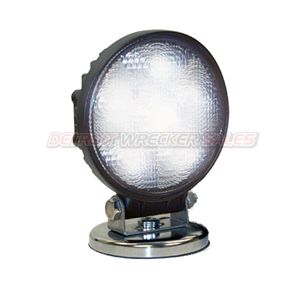 LED Clear Flood Light, 12 Volt, Mag. Base