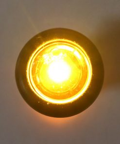 "3/4"" Amber/Clear LED Made In USA LIFETIME WARRANTY"