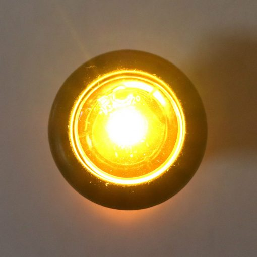 """3/4"""" Amber/Clear LED Made In USA LIFETIME WARRANTY"""