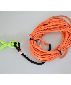 3/8 Synthetic Winch 75Ft Line Self Locking Hook