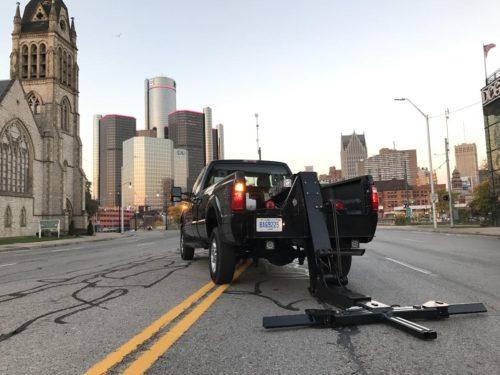 Gladiator Wheel Lift No Boom Or Winch Detroit Wrecker