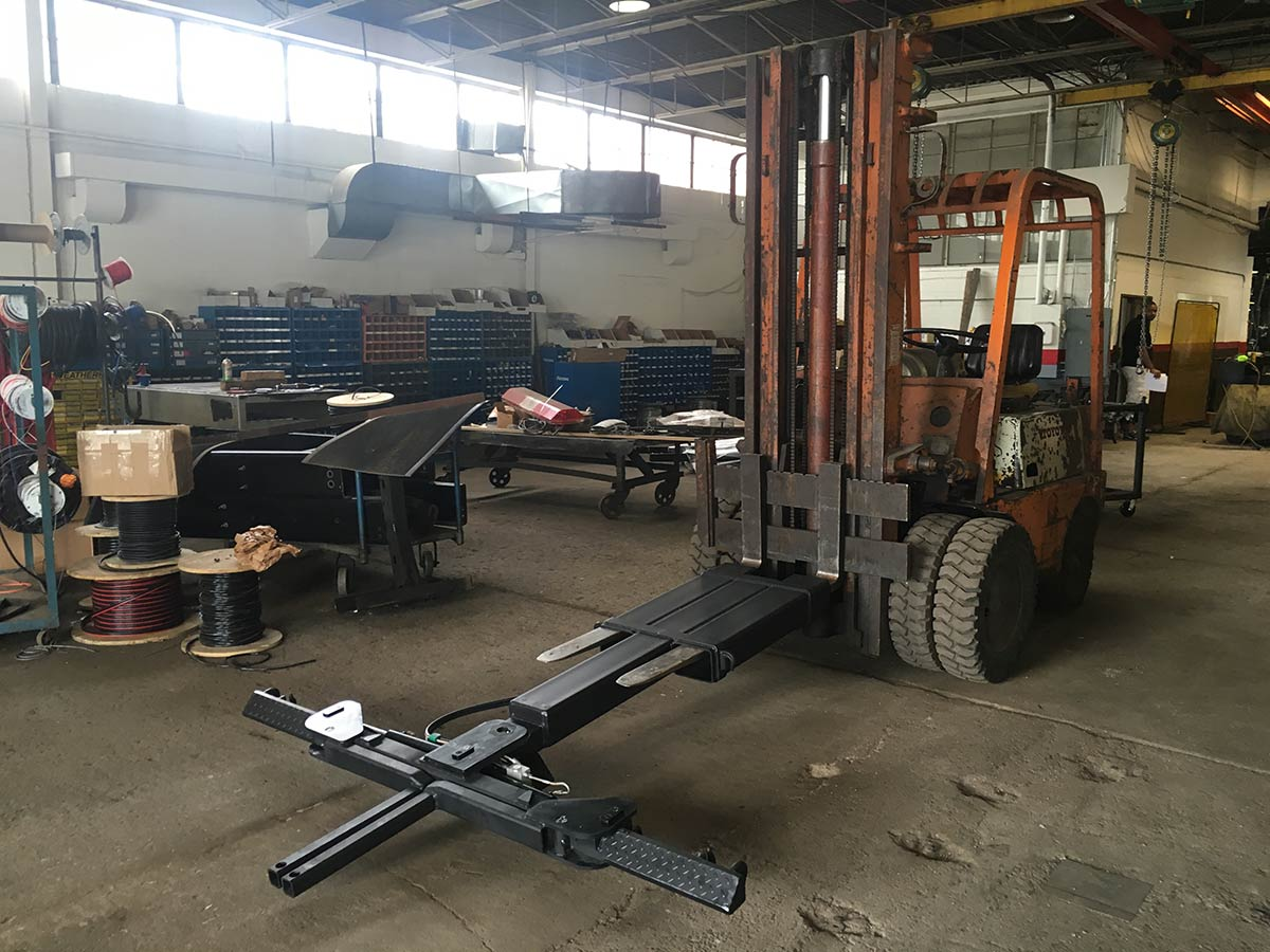 Detroit Wrecker Forklift Attachment Wheel Lift