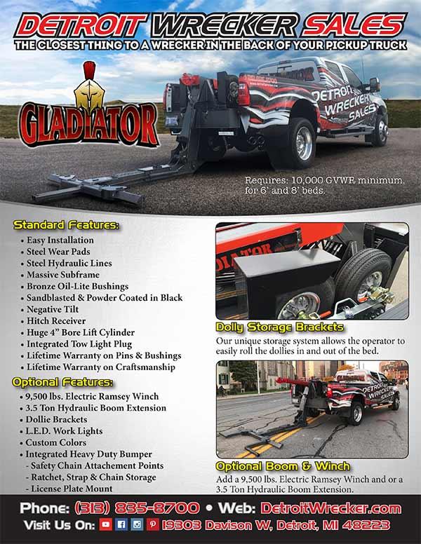 Gladiator Wheel Lift