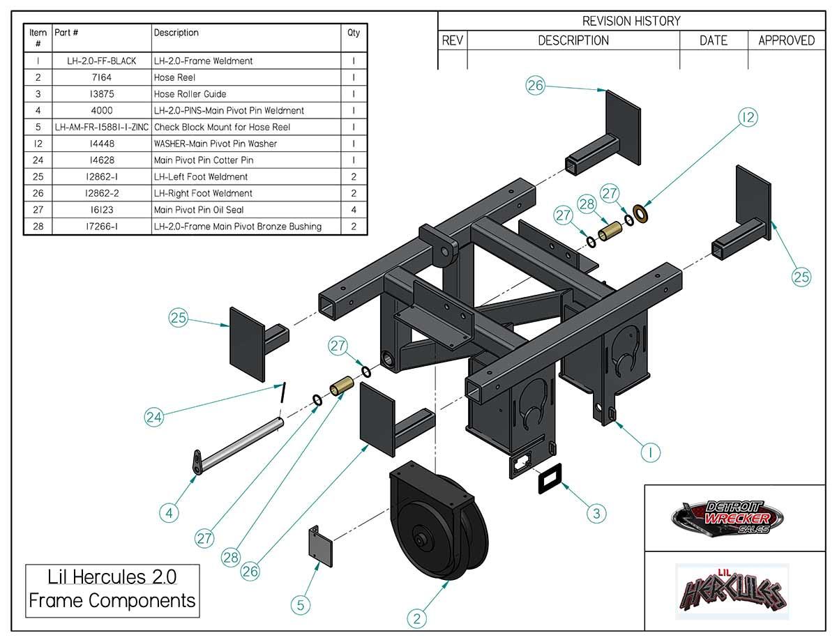 lil Hecr Steel Frame